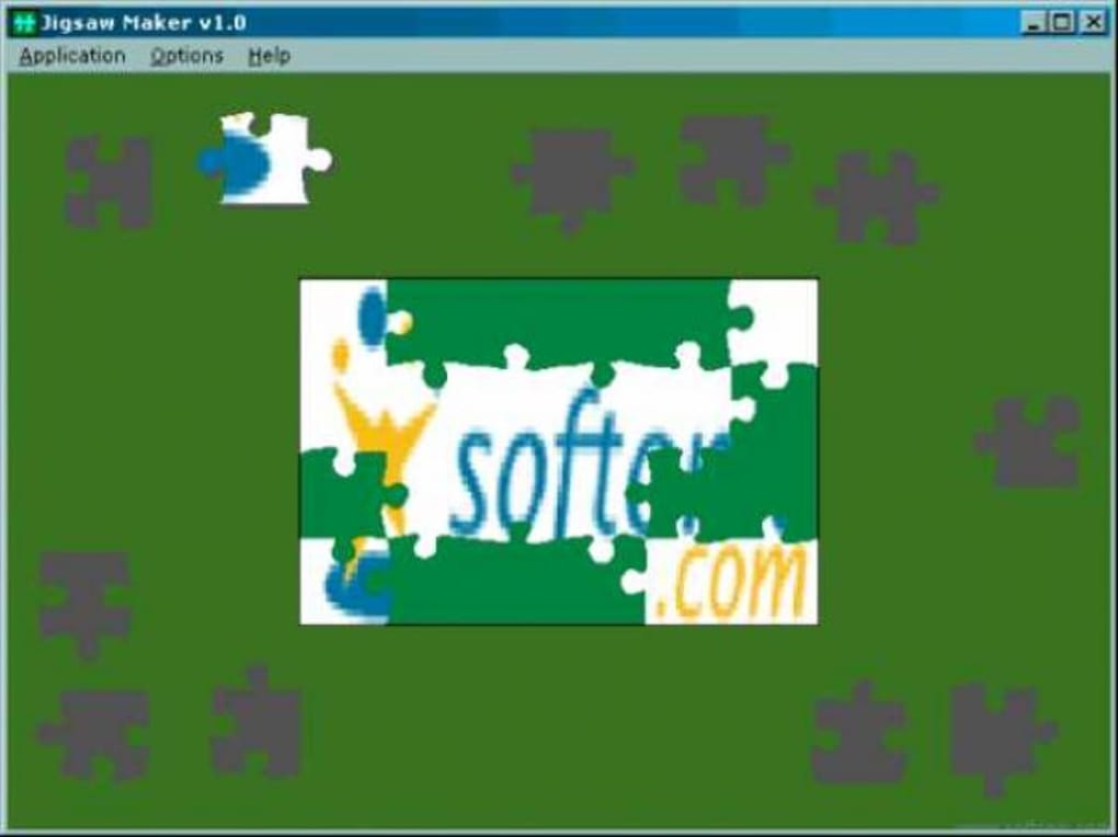 graphic relating to Printable Jigsaw Puzzle Maker Software called Jigsaw Manufacturer - Down load