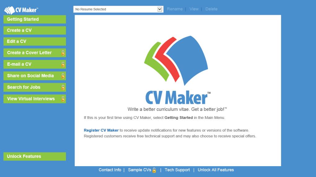 cv maker free
