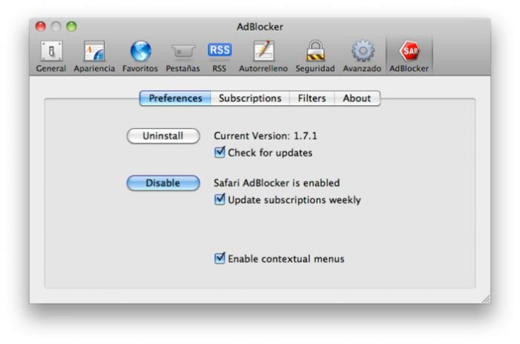 Adblocker Safari Mac