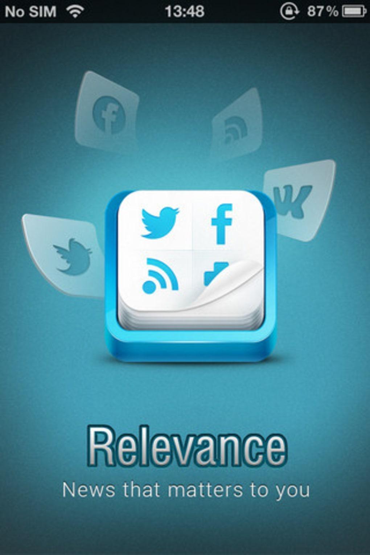 Relevance - Social news