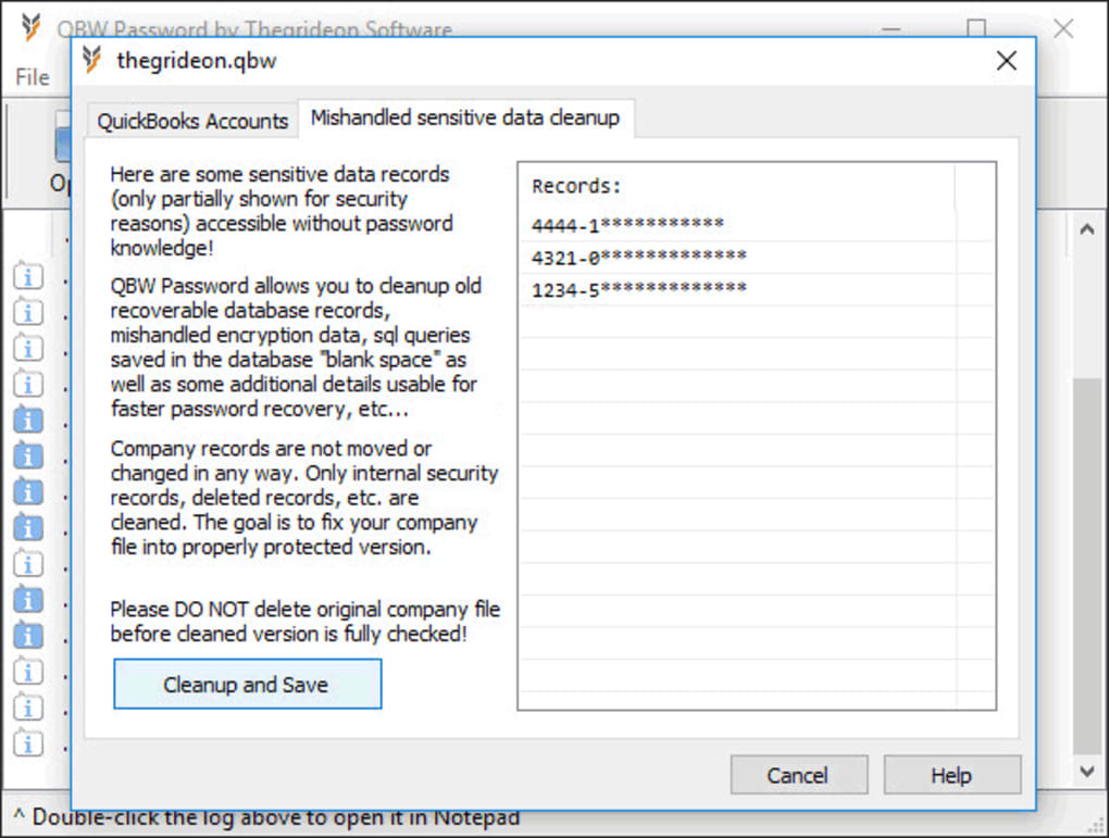 QBW Password - Download