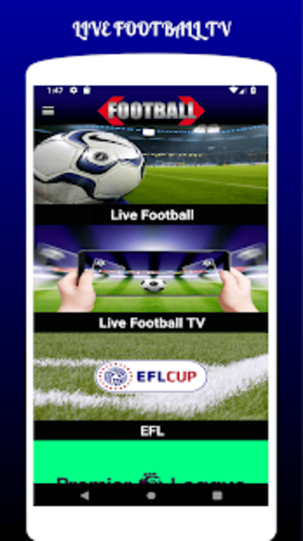 Live Fussball Streaming