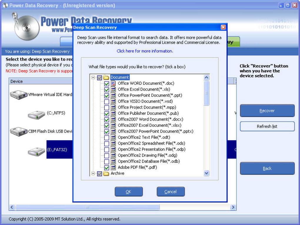 Power Data Recovery - Download