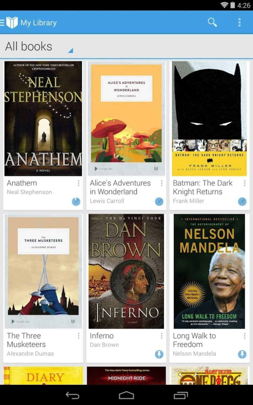 Google Play Books na Android - Download