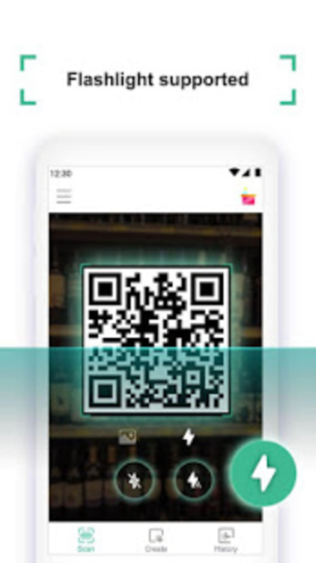 Coreader QR Code Barcode Scanner for Android - Download