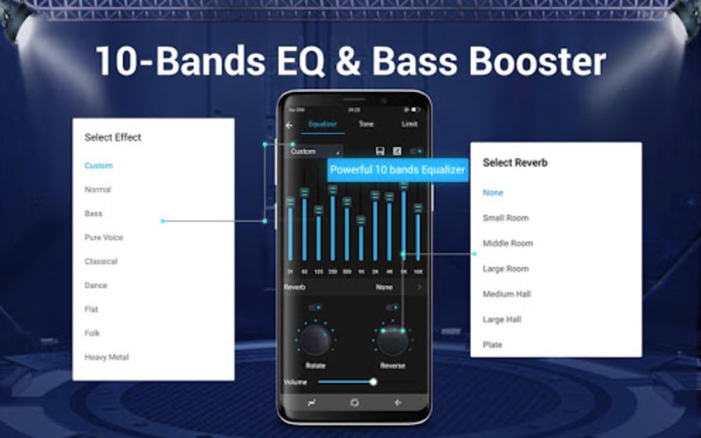 Music Player Audio Player 10 Bands Equalizer for Android