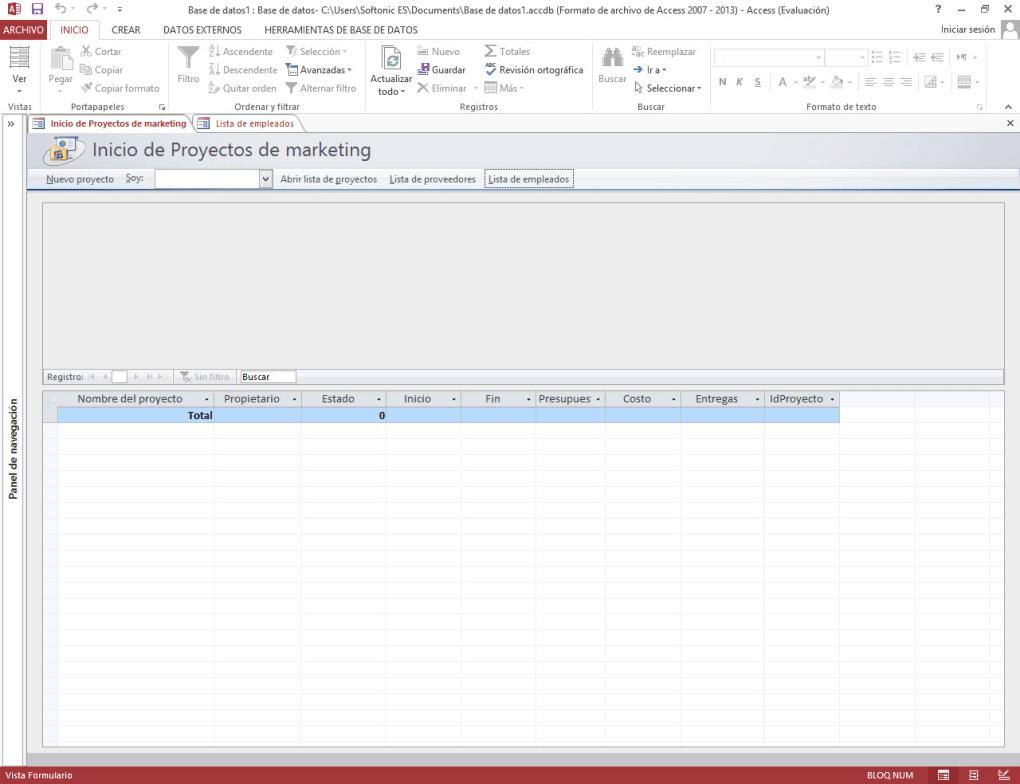 Microsoft Access 2013 - Descargar