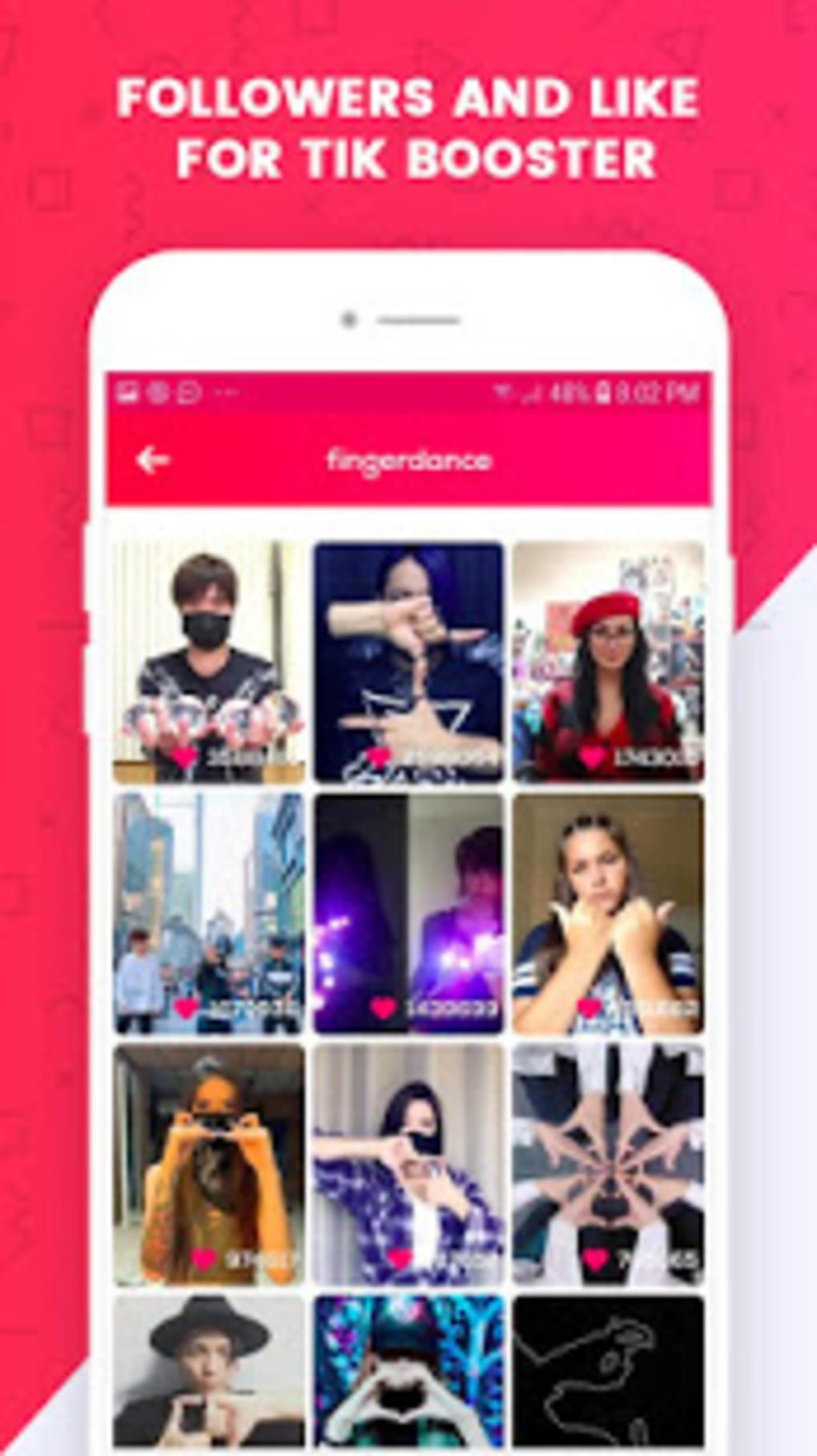 RealLikes - Get fans Get followers on TikTok for Android