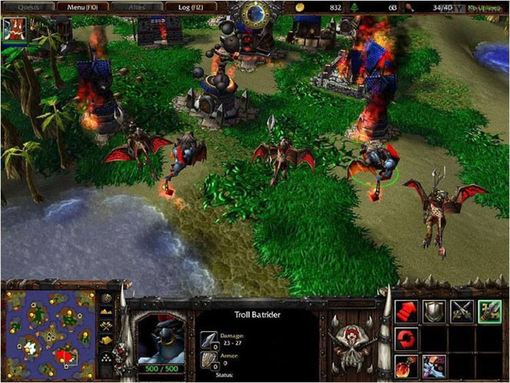 download warcraft 3 frozen throne free full version crack for pc
