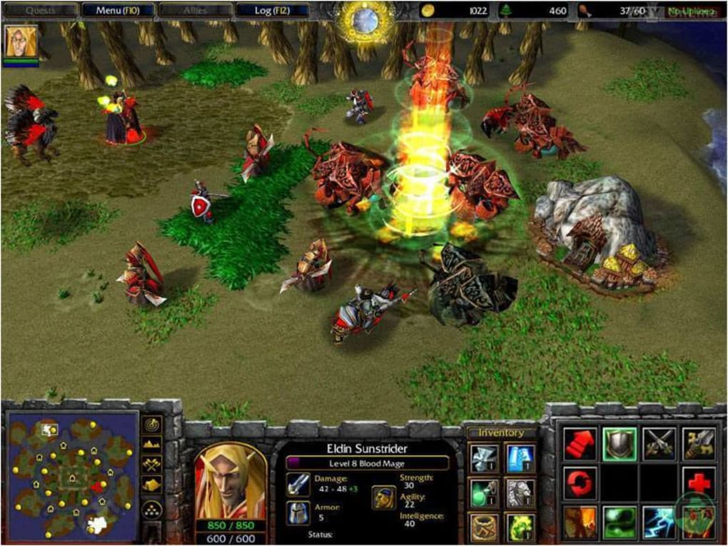 warcraft 3 the frozen throne free download full version 1.26