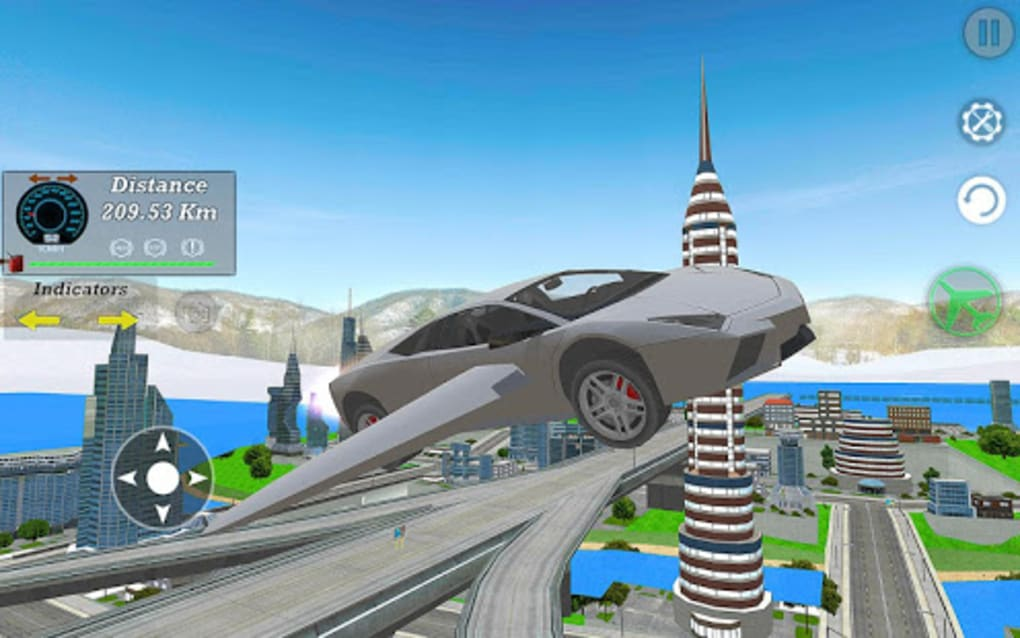 Real Flying Car Simulator Driver For Android Download