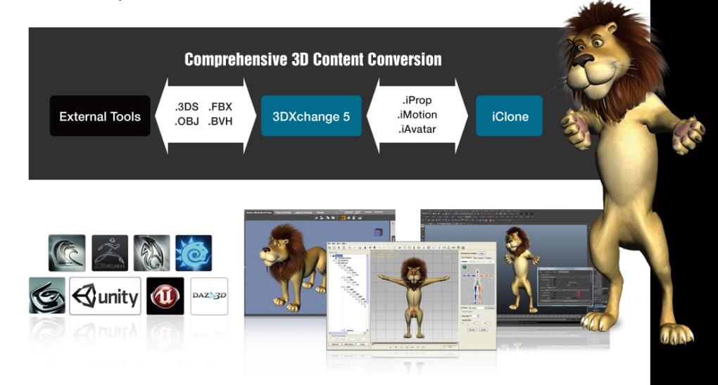 3DXchange - Download