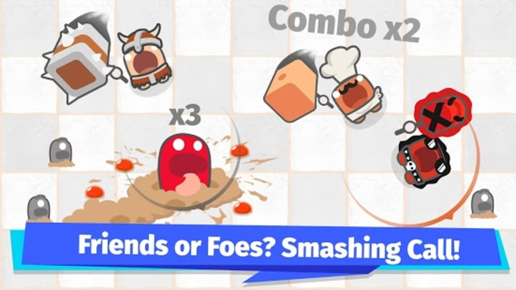 Smashersio Foes in Worms Land