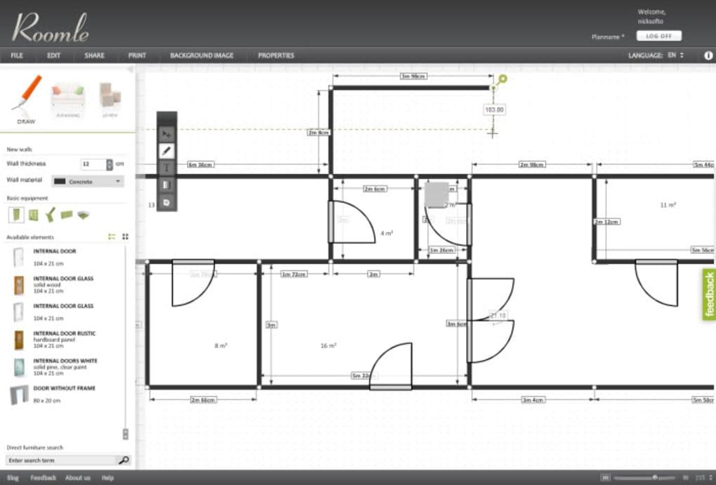 Roomle online for Programa para hacer planos online