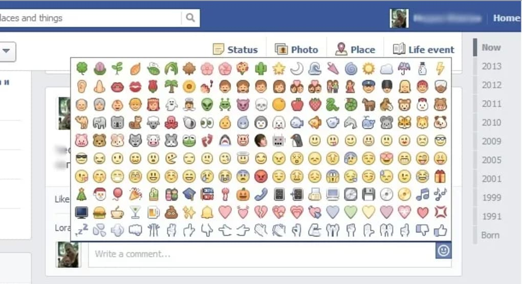 facebook secret emoticons 1.4.0 gratuit