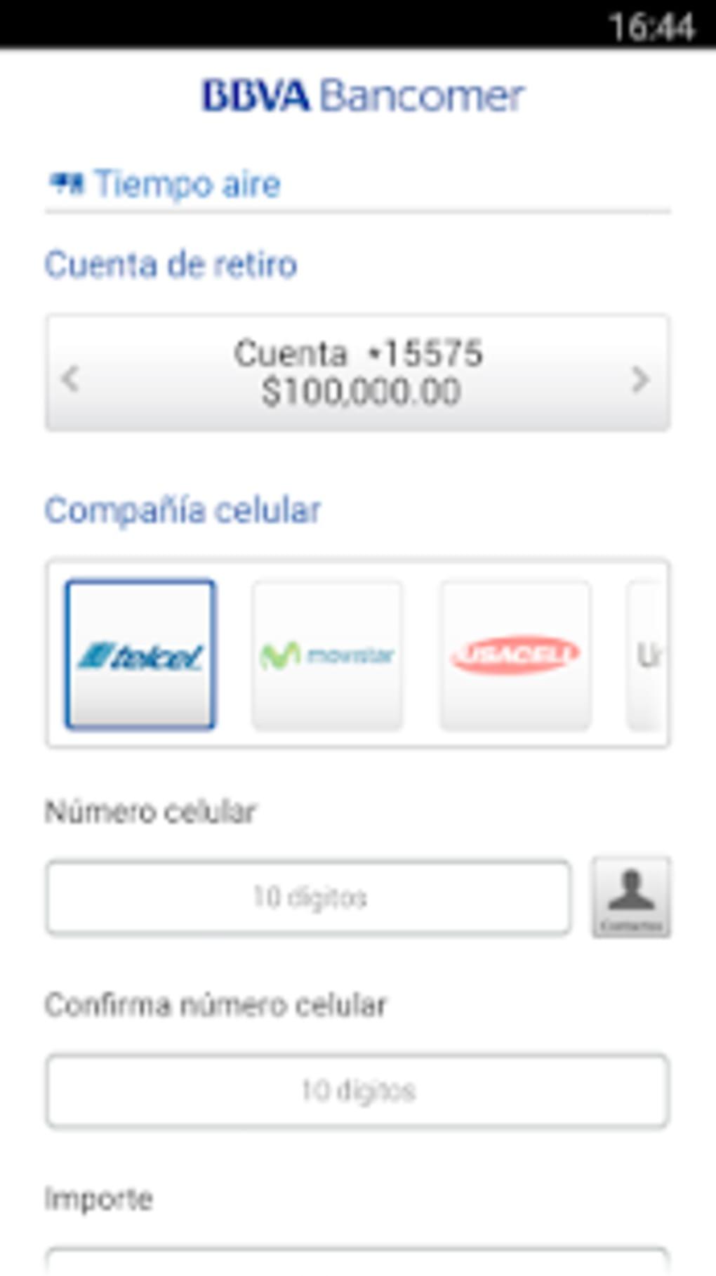 Bancomer Móvil Operaciones Sin Ir Al Banco Para Android