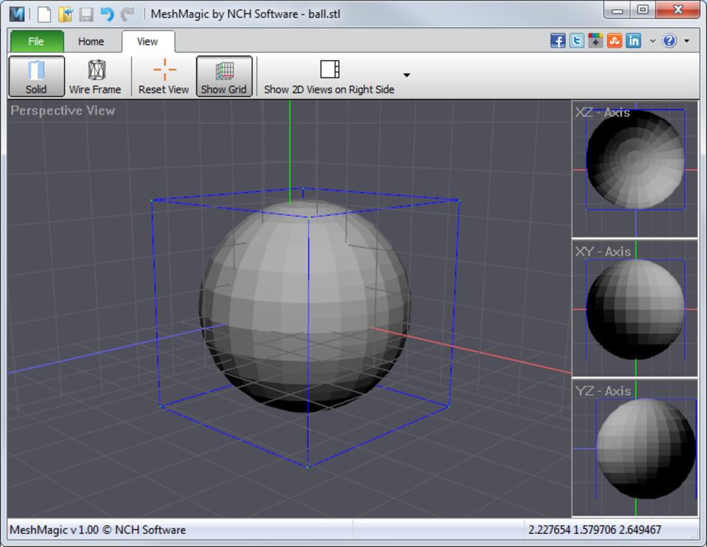 MeshMagic 3D Modeling Software Free - Download