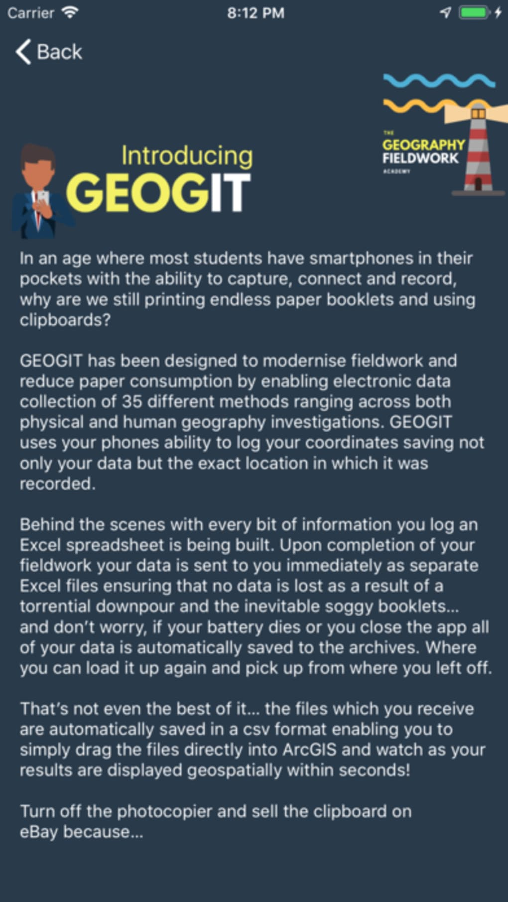 GeogIT for iPhone - Download