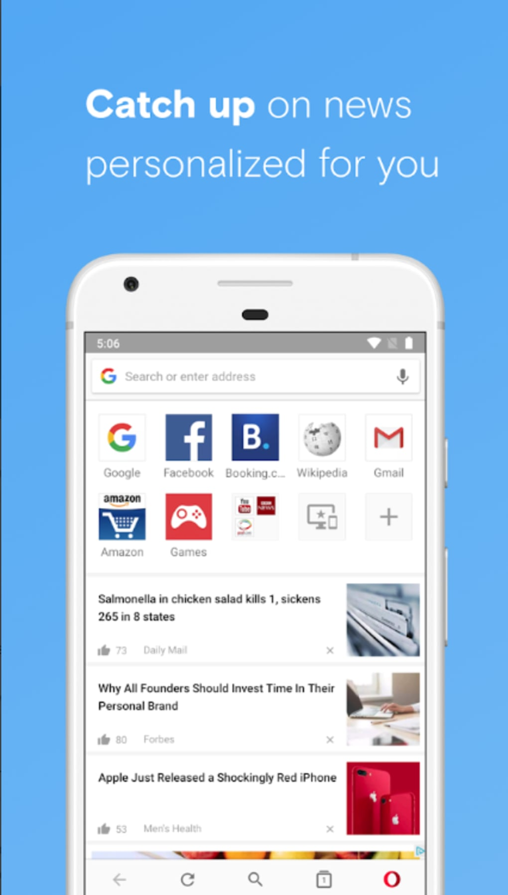 Opera Browser for Android - Download