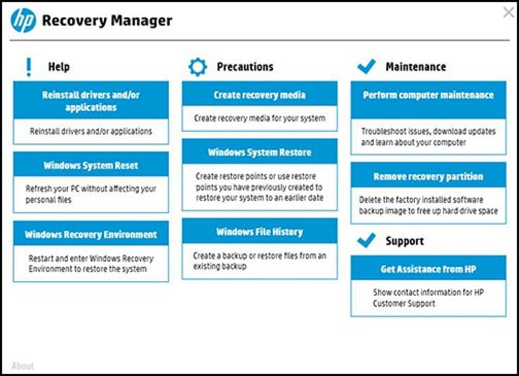 HP BACKUP AND RECOVERY MANAGER DOWNLOAD DRIVER