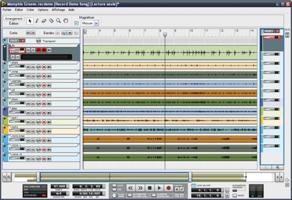 Record t l charger - Table de mixage virtuel gratuit en francais ...