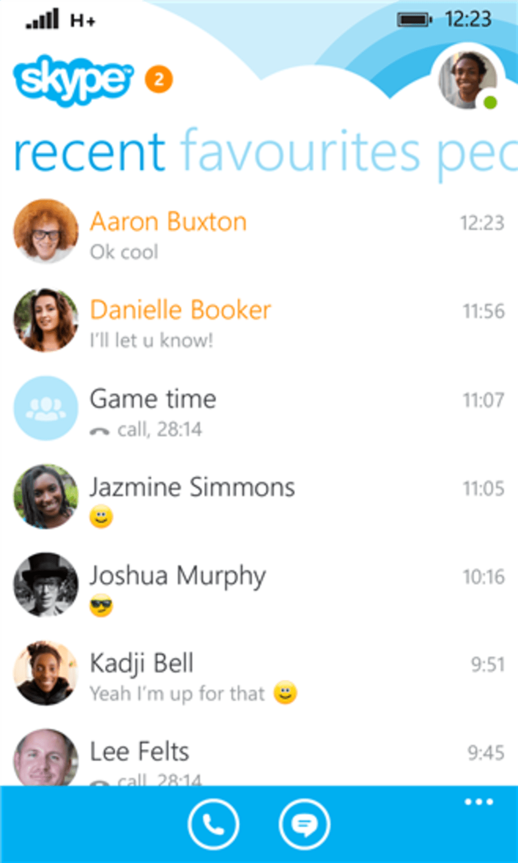 how to download skype on mobile