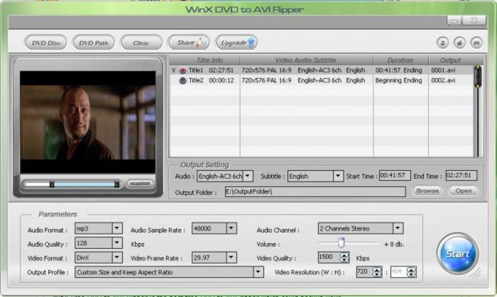 conversione dvx dvd