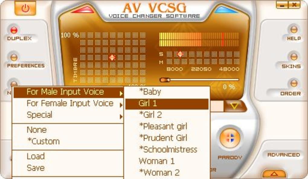 av voice changer software gold 7.0.52