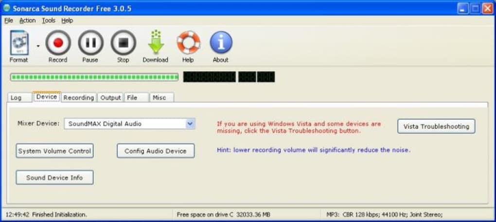 mp3 audio recording software free download