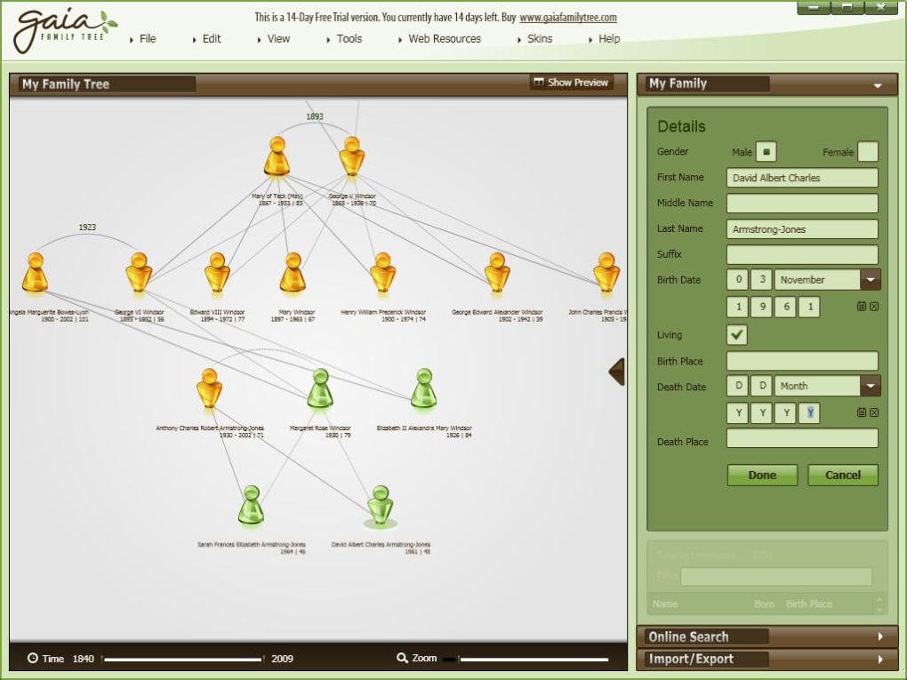 Gaia Family Tree - Download