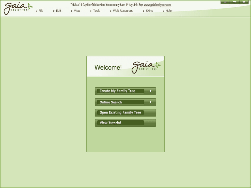 gaia family tree download