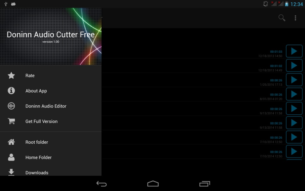 Doninn Audio Cutter (Free) for Android - Download