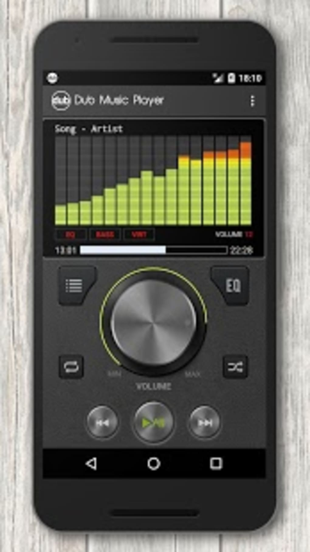 descargar dub music player para android