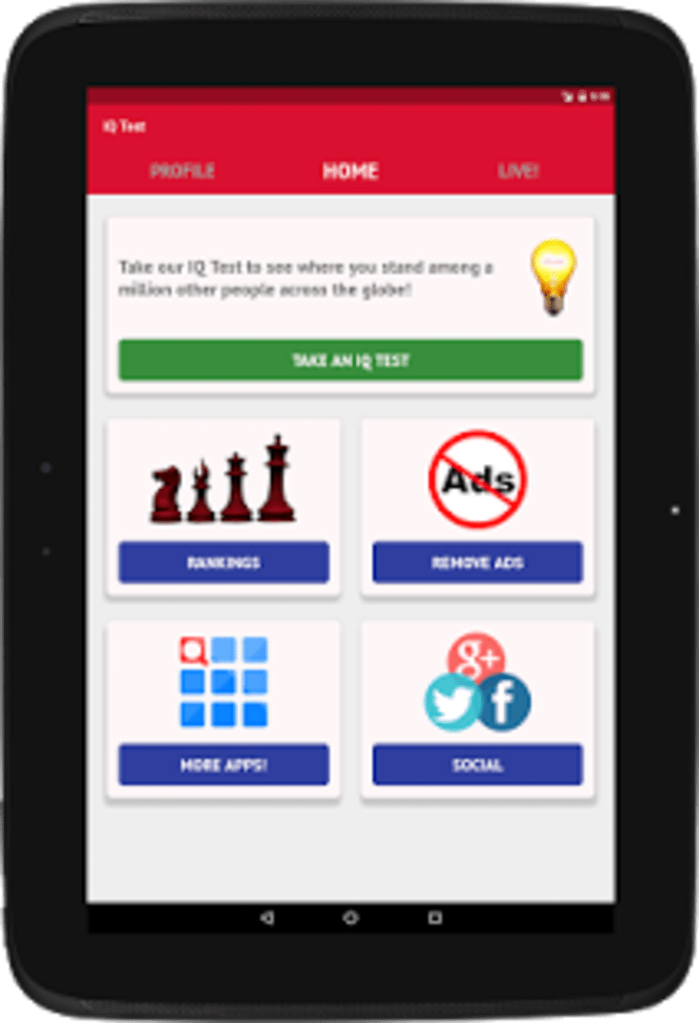 IQ Test - How smart are you? for Android - Download