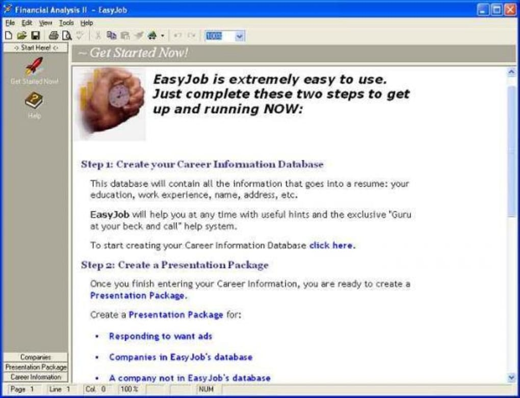 EasyJob Resume Builder  Download