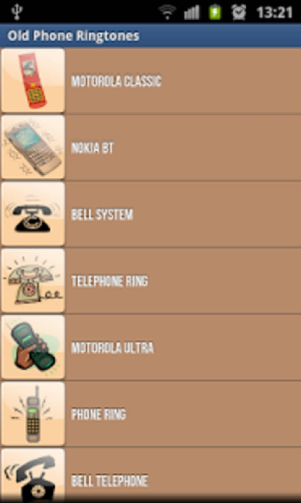 Old Phone Ringtones for Android - Download