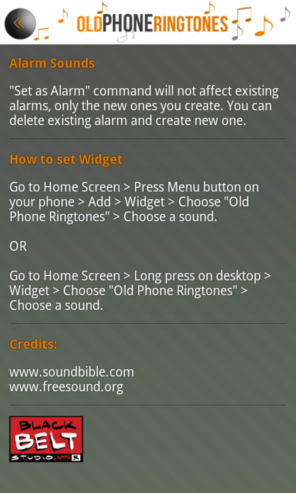 old fashioned ringtones for my mobile