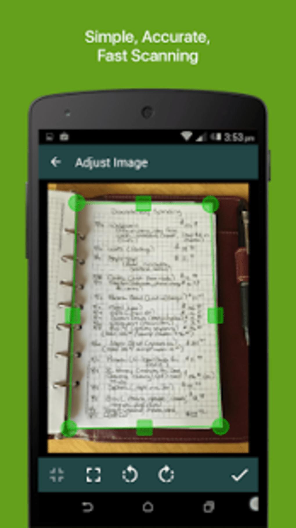 clear scanner free pdf scans apk