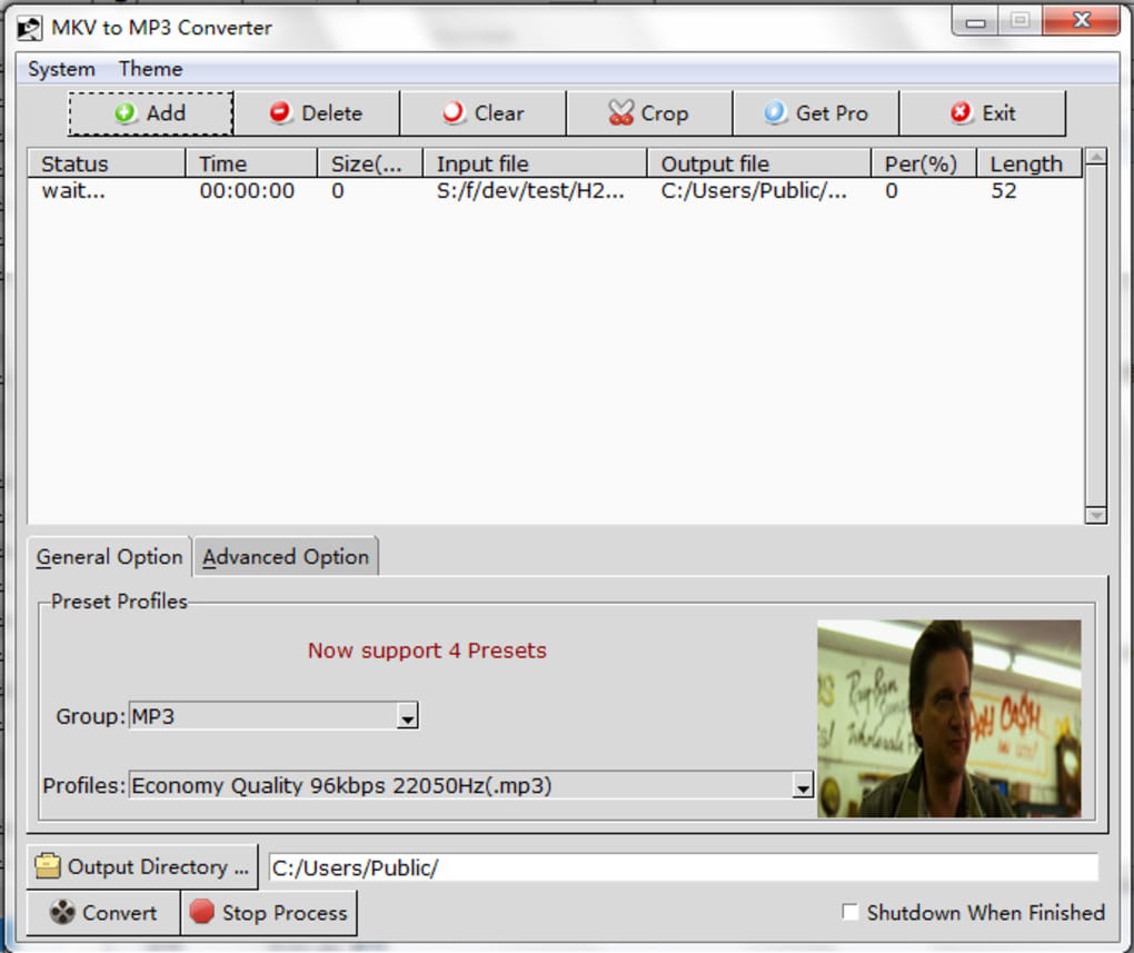 MKV to MP3 (Online & Free) — Convertio