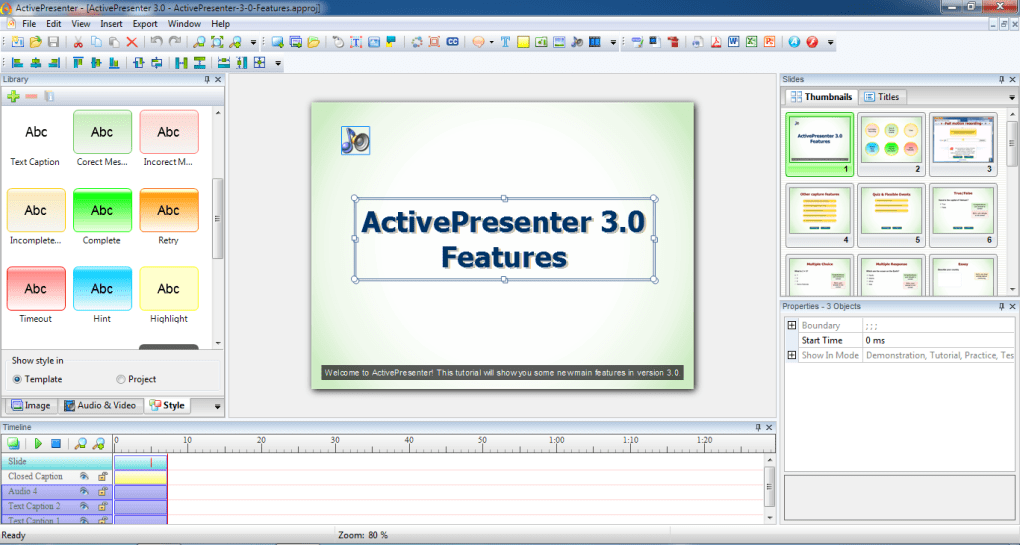activepresenter professional portable