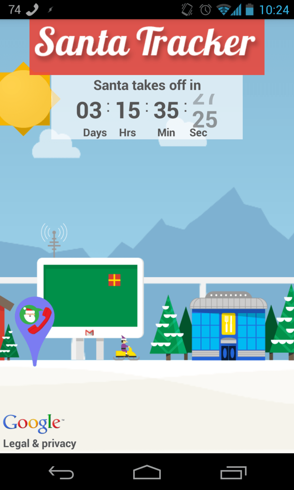Google Santa Tracker For Android Download