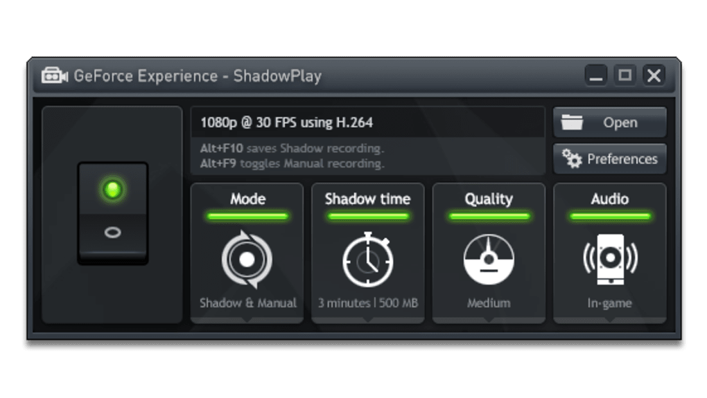 nvidia shadowplay download windows 7