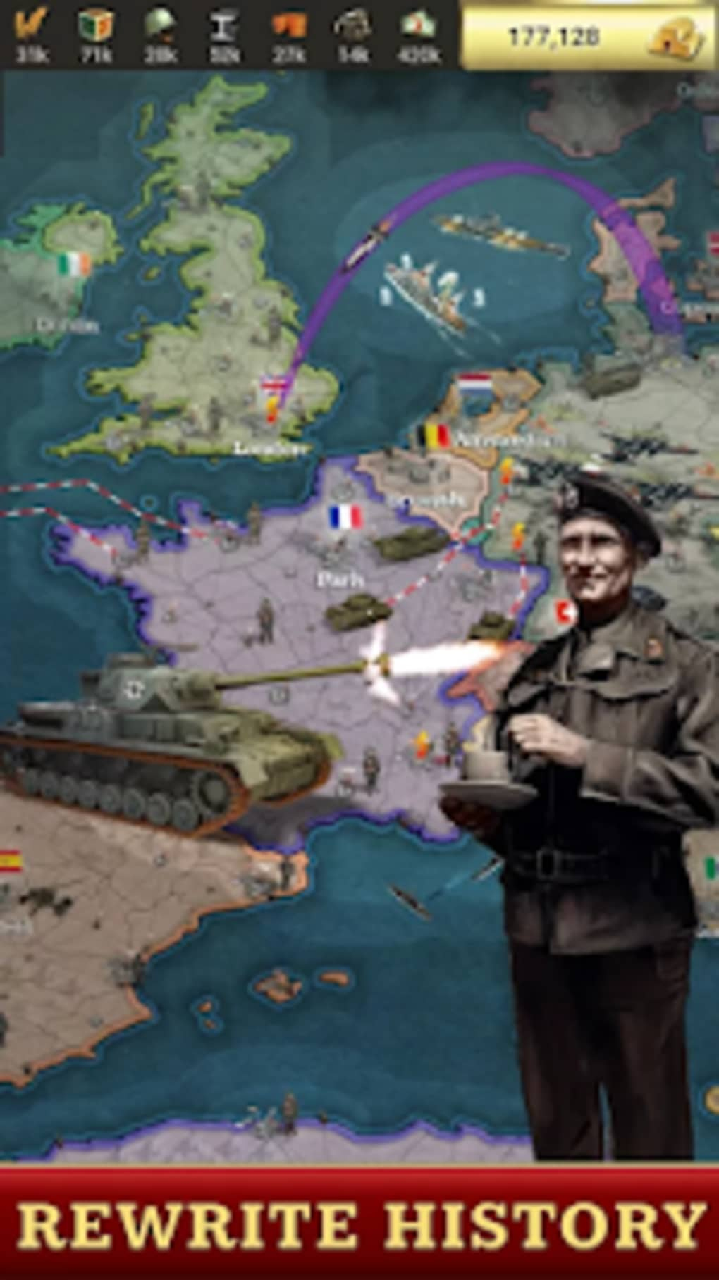 Call of War  World War 2 Strategy Game