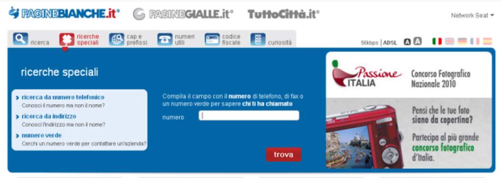 Paginebianche Online