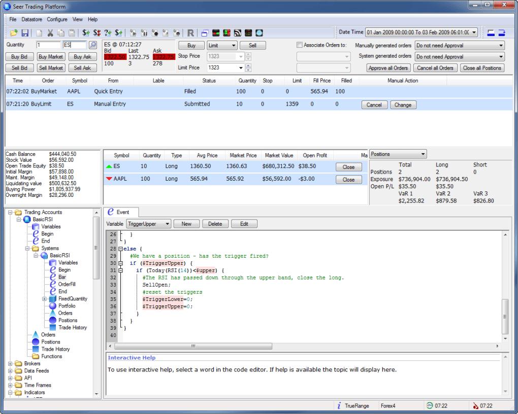 Seer Trading Platform - Download