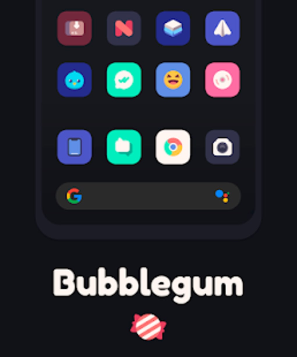 Bubblegum Icon Pack for Android - Download