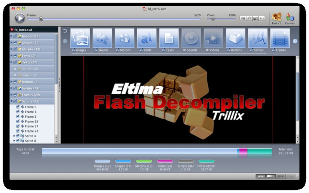 Flash Decompiler Trillix for Mac - Download