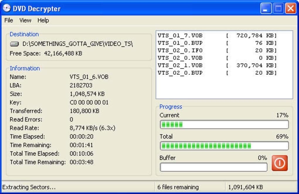 dvd decrypter da