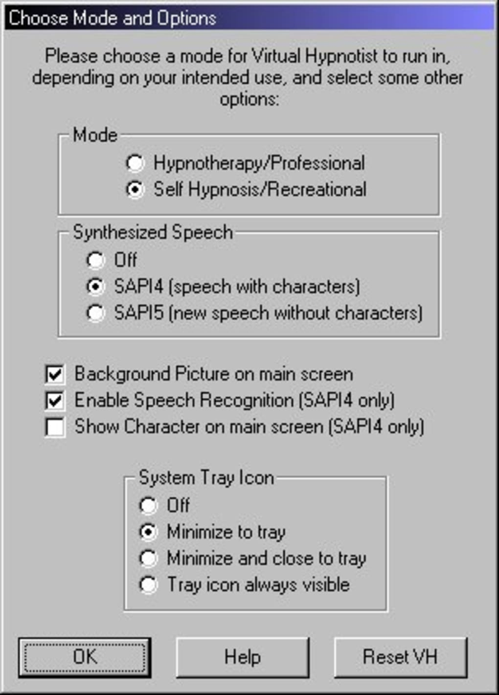 Virtual Hypnotist - Download