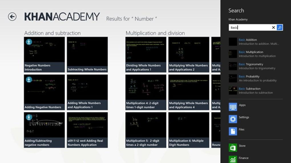 Khan Academy for Windows 10